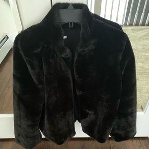 Tularosa Jackets & Coats - NWOT Tularosa Inori Faux Fur Jacket in Black S